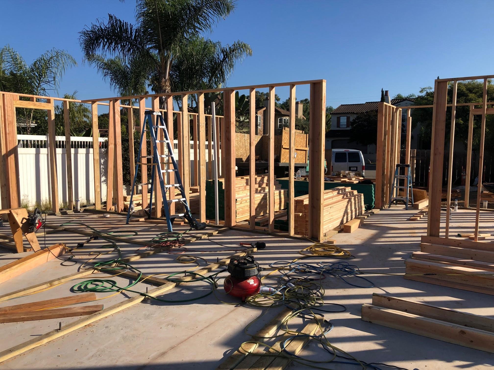 adu builder sitework